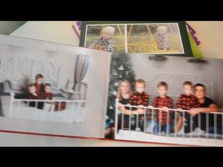 Видео новогодней книги