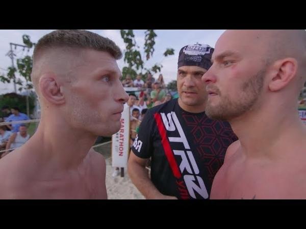 Russian Fighter vs Finland bodyguard, Crazy Fight !