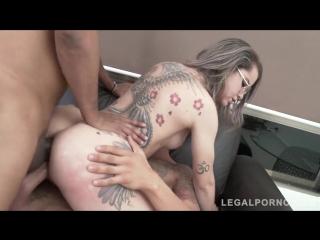 Legalporno - Gonzo - Young Brazilian slut Alice Alcantara DP'ed by two monster cocks SZ2018