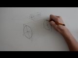 Как нарисовать круг в перспективе