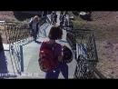 набережая лестница в город