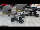 Купить детскую коляску для двойни Junama Duo от Тако. Полноразмерные люльки.