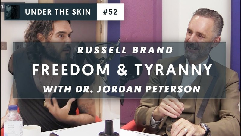 NEW Jordan Peterson Russell Brand on FREEDOM and TYRANNY