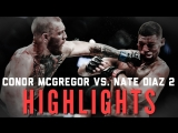 Conor McGregor vs. Nate Diaz 2 ● Fight Highlights ● HD