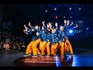 U-13 ANNIVERSARY | BEST TEAM SHOW BEGINNERS WINNER |  . JUNIOR г. Тюмень