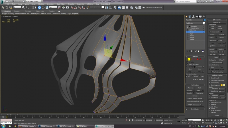 занятие8 - Hard Surface Modeling (rus)