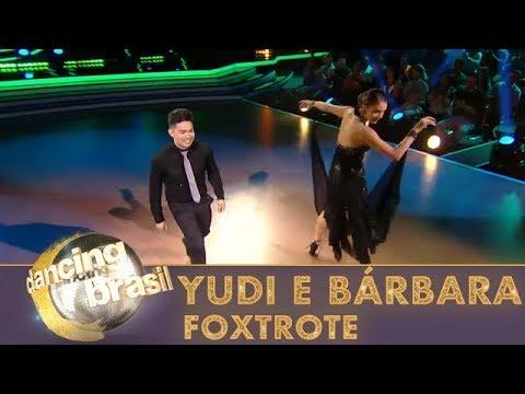 Yudi e Bárbara são ovacionados com show de foxtrote