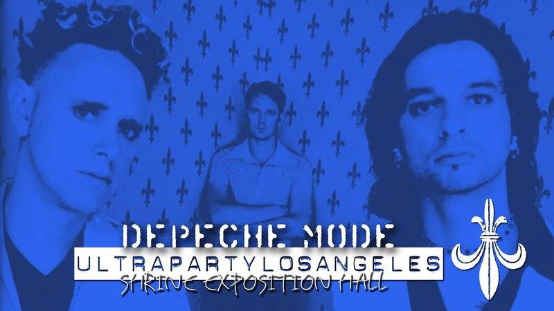 Depeche Mode Ultra Party live in Los Angeles (E! TV version)