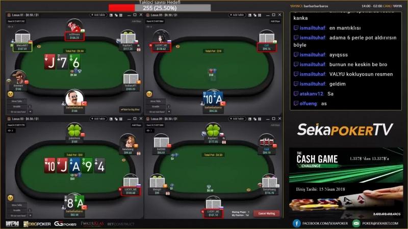 Imaybethebest Yayında! GG Network Teksas Hold'em - Sekabet223.com