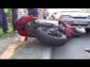 Последсивия погони ГИБДД за Мотоциклом