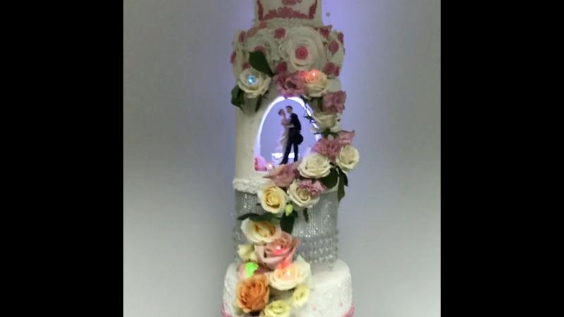 Свадебный торт от cake house