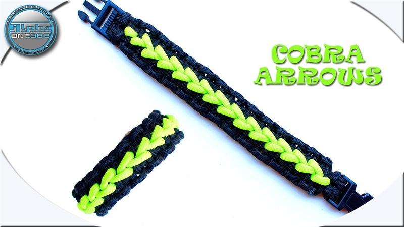 How to Make Paracord Bracelet Solomon Arrows DIY Paracord Tutorial