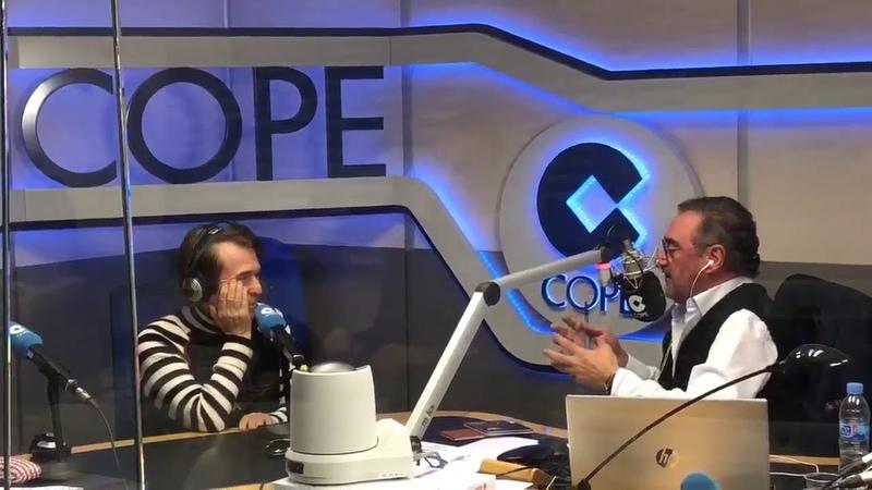 Raphael en COPE con Carlos Herrera