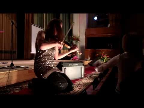 7 - 40 Jewish - Russian folk Dance (Seven forty) Kate Tsvetaeva pop violin (live CDU 25/11/13)