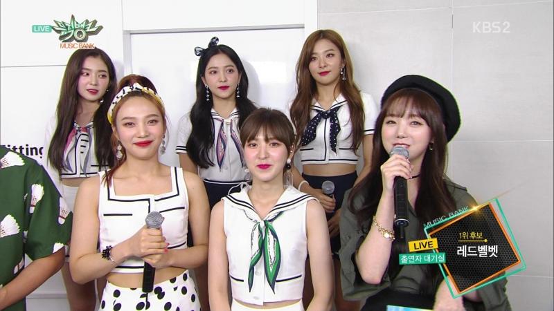 180817 Red Velvet (레드벨벳) - Waiting Room (대기실)