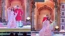 Aishwarya Rai Bachchan And Abhishek Bachchan's Romantic Dance At Isha Ambani's Sangeet Ceremony