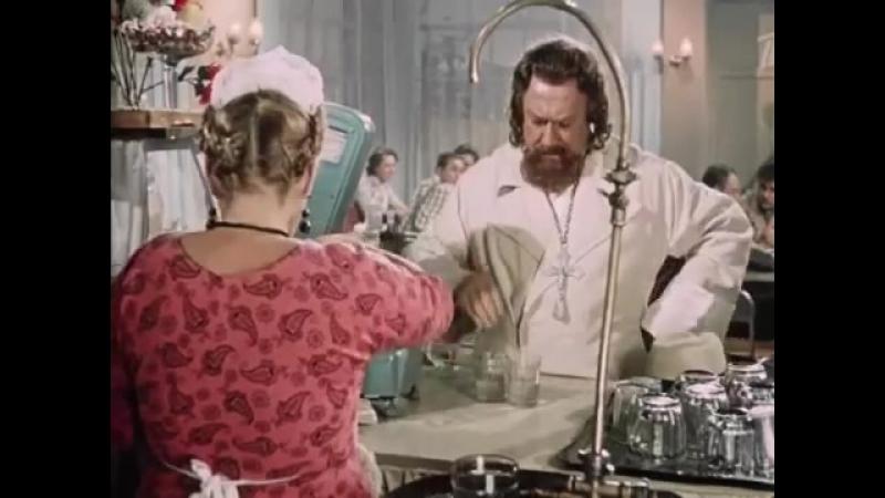 Батюшка старовер Нет, мне два по сто и в одну посудину! К полумерам не привык