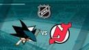 Хоккей НХЛ Сан Хосе - Нью Джерси San Jose Sharks vs New Jersey Devils NHL 18/19 Hockey Highlights