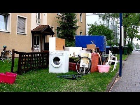 Что выбрасывают немцы на улицу (Sperrmüll)