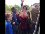 Самое милое видео в истории Роттердама с участием Робина ван Перси