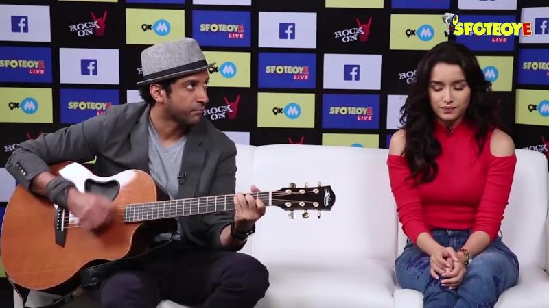 Шраддха и Фархан исполняют песню Tere Mere Dil