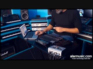 Giaga Robot con Universal Audio Apollo Twin e Korg Nano