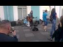 Питер.Уличные музыканты.
