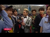 180521 BTS Tells Frankie Grande How Much They Train, Who They're Excited To Meet @ BBMAs Red Carpet