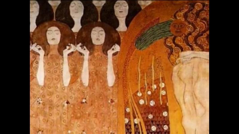 Ludwig van Beethoven-- Finale-Symphony No. 9 Gustav Klimt » Freewka.com - Смотреть онлайн в хорощем качестве