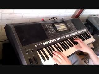 (Виселица (игра)🎹🎶 ~ ((Ahmed)) ~ J M Jarre Magnetic Fields 4 PSR S770