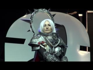 Косплей по Warhammer 40,000-Святая Сильвана