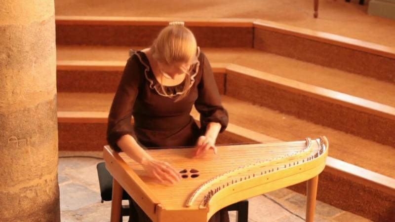 Jean-Philippe Rameau - L'Entretien des Muses [Pièces de clavecin avec une méthode] - Anna Liisa Eller, psalterium