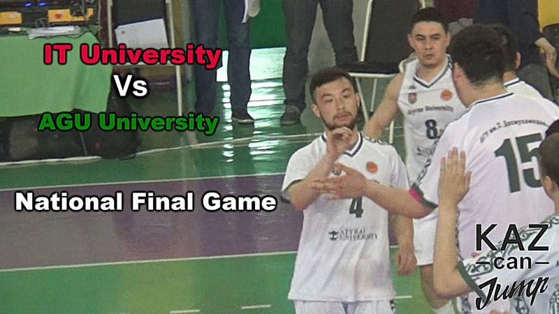 AGU vs IT University NBSL National Final Epic game. Highlights and more!