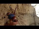 zip line in wadi Rahaf #canyoning #zip_line #каньонинг