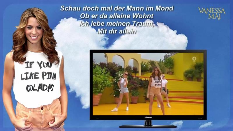 Wolkenfrei-Star Vanessa Mai «Wolke 7» mit Lyrics 2015