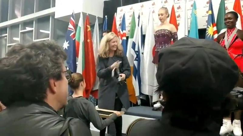 Награждение | Autumn Classic International 2018 | 21.09.18