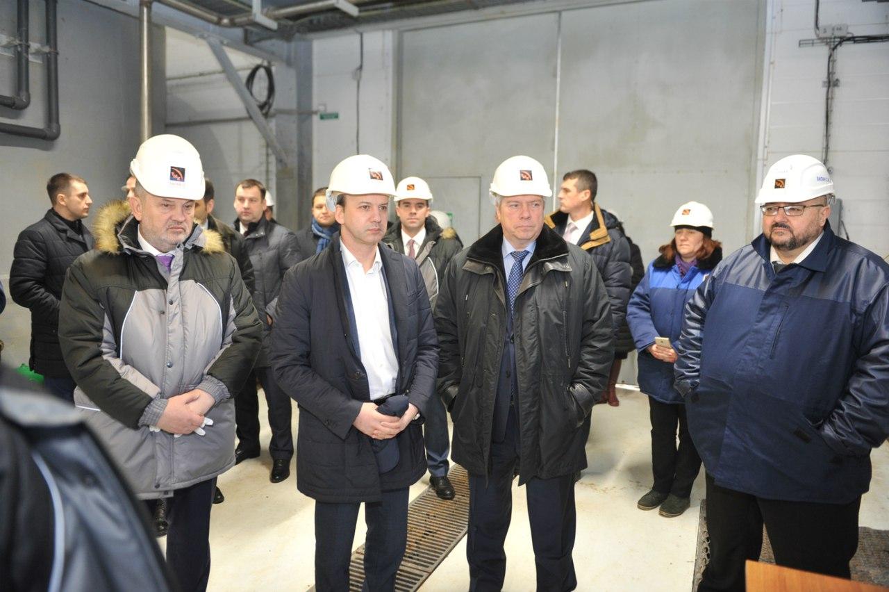 ТАГМЕТ посетил заместитель Председателя Правительства РФ Аркадий Дворкович