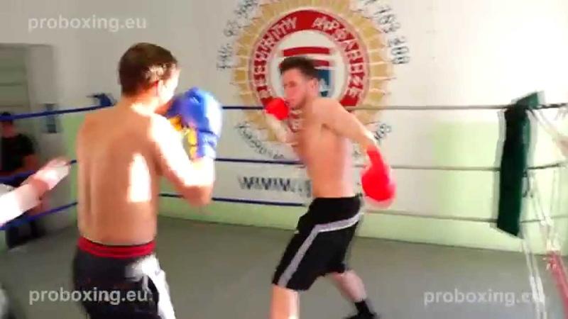 Marcis Bumbiers (Latvia) VS Olegs Asejevs (Latvia) 31.10.2014 proboxing.eu