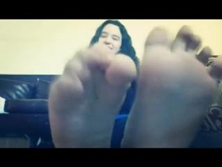 el reto de los pies