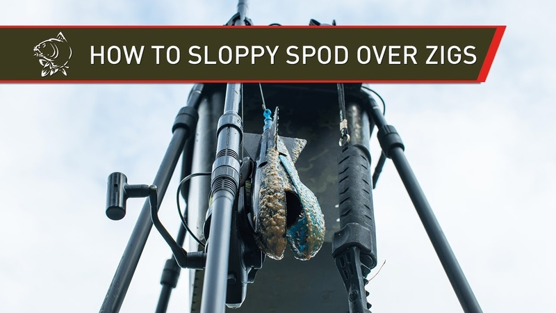 ZIG FISHING HOW TO SLOPPY SPOD OVER ZIGS