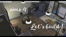 Lets build! sims 4 постройка ужасной квартиры