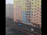 Снегопад в НПР