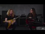 Megadeth - 'Fatal Illusion' Playthrough with Dave Mustaine Kiko Loureiro
