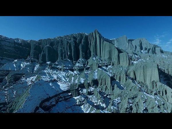 Beautiful China Xinjiang Urumqi Aerial Photography and Tourism