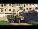 Мощнейший взрыв Как русский«Змей Горыныч» сжигает боевиков вДамаске. Yarmouk SAA fight