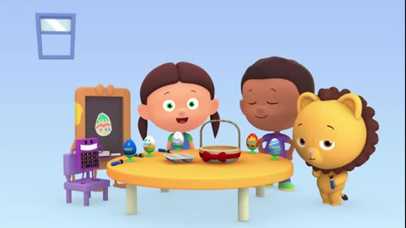 СЧИТАЕМ С ЛОЛОЙ Серия 02 Пасхальные яйца Обучающие мультфильмы для малышей
