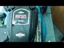 РЕМОНТ газонокосилки Двигатель BRIGGS STRATTON 500 series 158cc Repair lawnmower