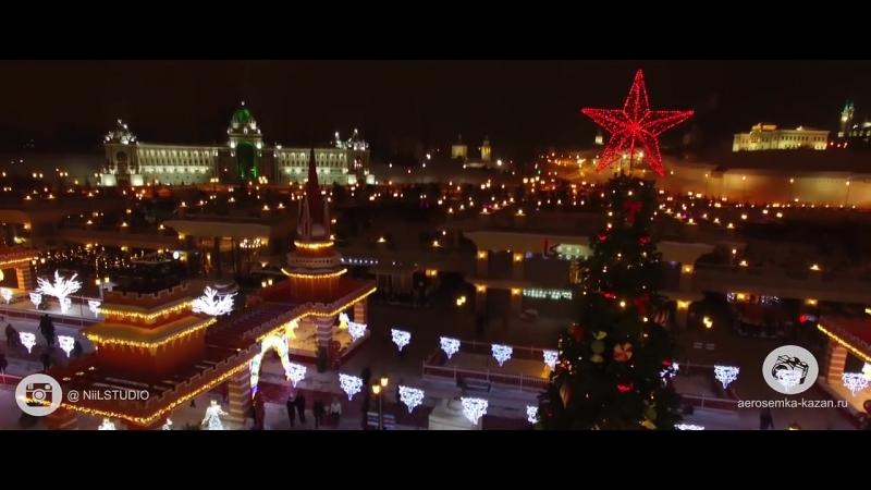 Кремлевская Набережная Казань 2018
