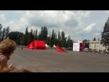 Выступление пилотажной группы ГИБДД Каскад