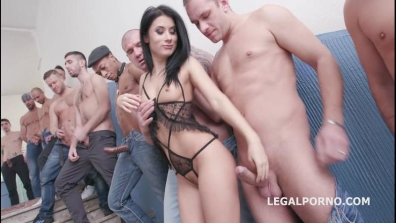 Русская милашка на работе Nicole Black lesson number 8, 10on1 DAP Gangband Balls Deep Anal DAP TP Gapes Swallow hardcore porno